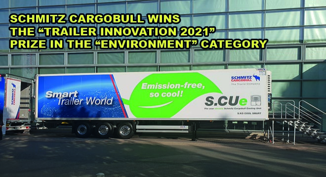Schmitz Cargobull Wins The Trailer Innovation 2021 Prize In The Environment Category