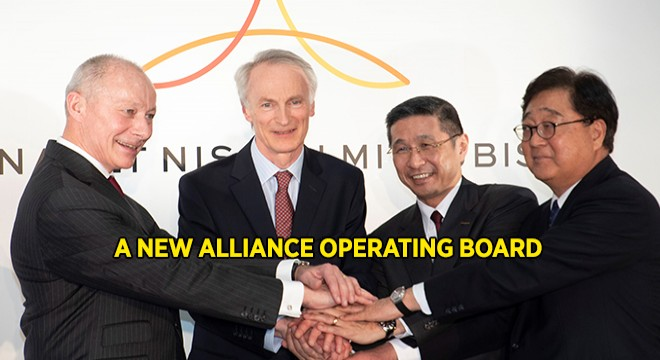 Senard Will Act As Chairman of This New Operating Board of The Alliance