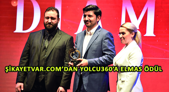 Şikayetvar.com'dan Yolcu360'a Elmas Ödül