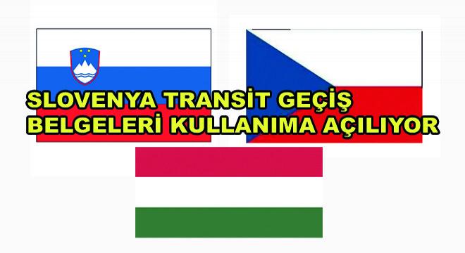 Slovenya Transit Geçiş Belgeleri Kullanıma Açılıyor