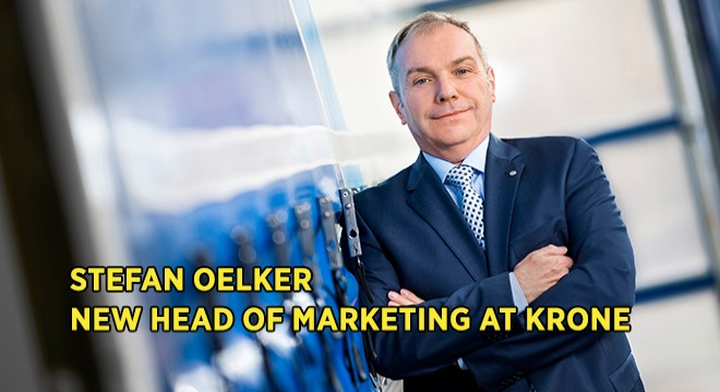 Stefan Oelker New Head of Marketing at Krone