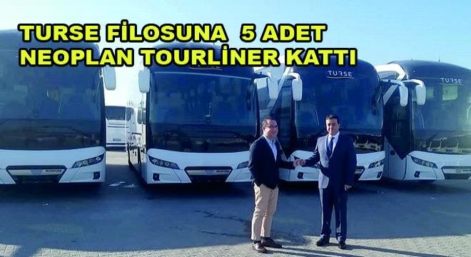 TURSE Filosuna  5 Adet  NEOPLAN Tourliner Kattı