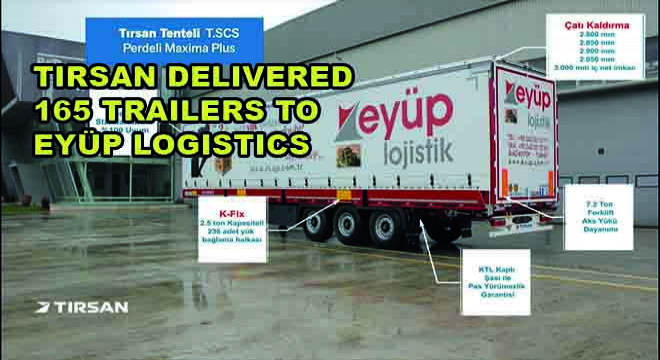 Tirsan Delivered 165 Trailers To Eyüp Logistics