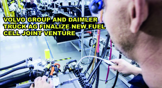 Volvo Group And Daimler Truck Ag Finalize New Fuel Cell Joint Venture