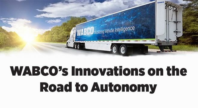 WABCO's Innovations on the Road to Autonomy
