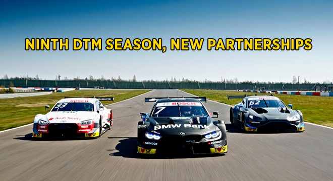 Ninth DTM Season, New Partnerships With Renowned Racing Series