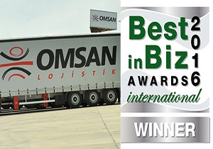 "OMSAN'a ""International Best in Biz Awards""den Gümüş Ödül"
