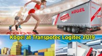 Kögel Trailers at Transpotec Logitec 2019