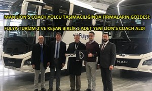 MAN'in 2020 Model Lions Coach Teslimatları