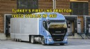 Turkey's First LNG Tractor IVECO Stralis NP 460
